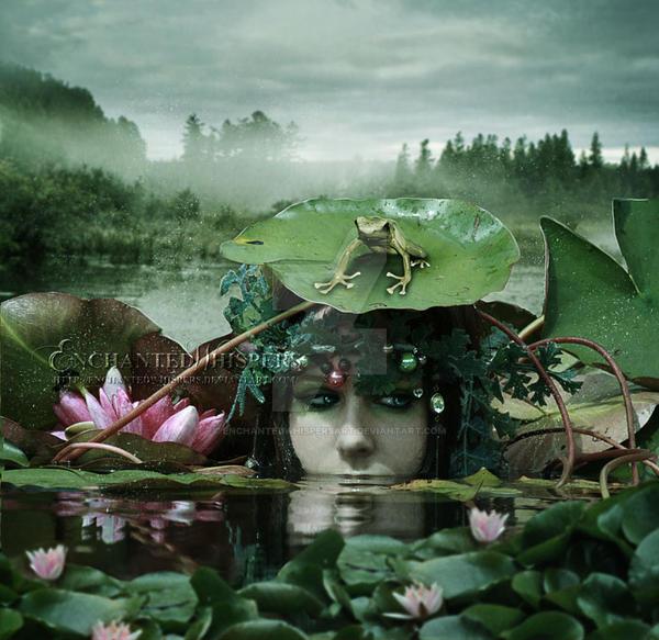 Spirit Of The Lake by EnchantedWhispersArt