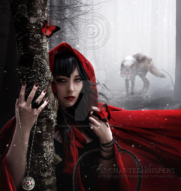 Little Red by EnchantedWhispersArt