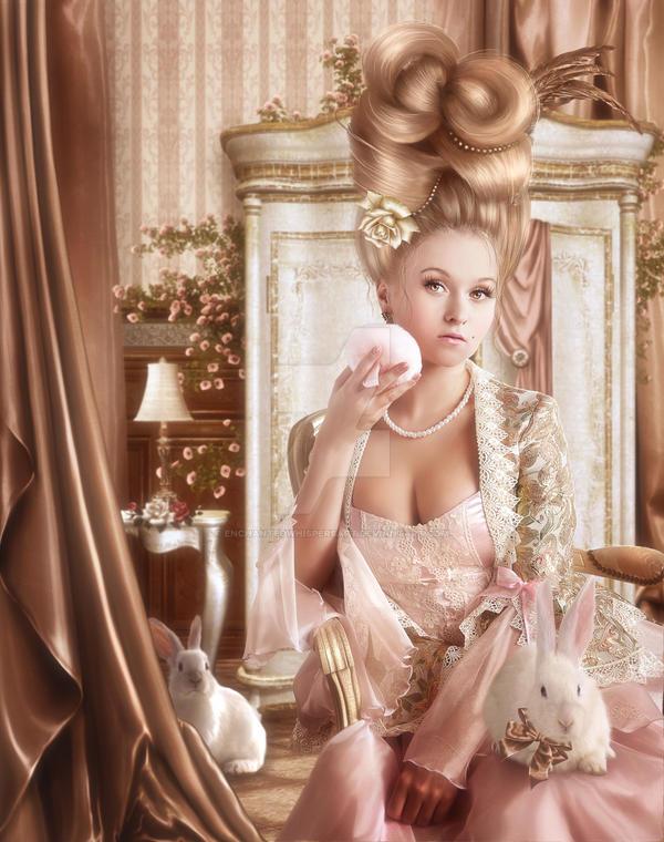 Powder Room by EnchantedWhispersArt