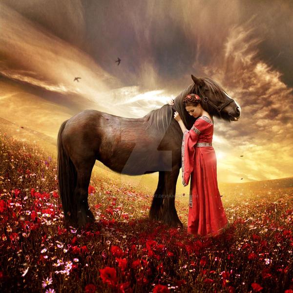 Friendship by EnchantedWhispersArt