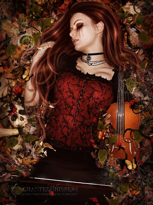 Barely Breathing by EnchantedWhispersArt
