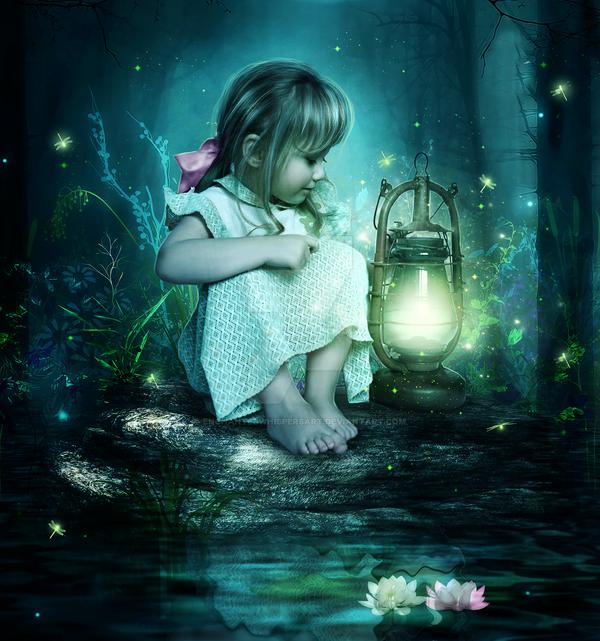 Magic Light by EnchantedWhispersArt