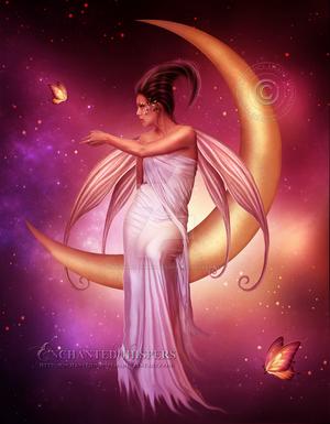 Enchanted Moon by EnchantedWhispersArt