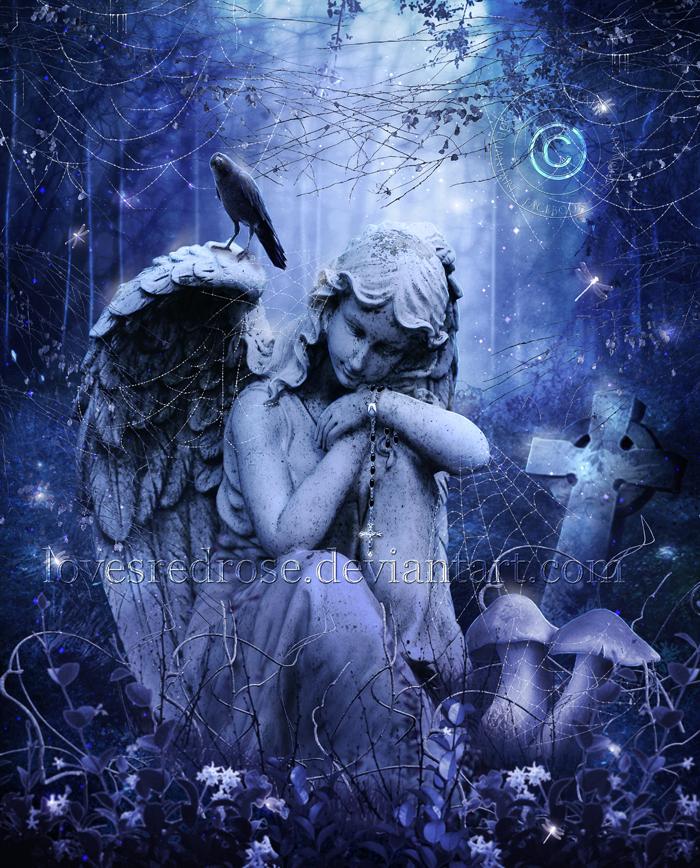 fantasy art angel sad - photo #41