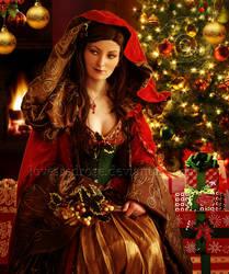 Christmas-Goddess by EnchantedWhispersArt