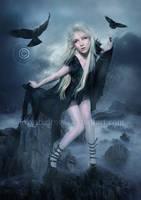 Black-Bird by EnchantedWhispersArt
