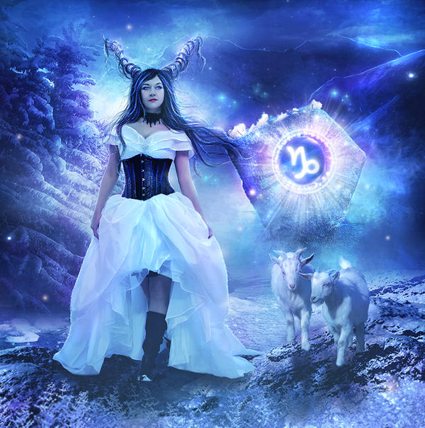 Capricorn by EnchantedWhispersArt