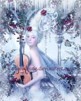 Winter Fae by EnchantedWhispersArt