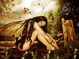 Winged Enchantment by EnchantedWhispersArt