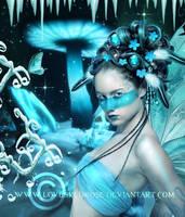 Crystal-Fae by EnchantedWhispersArt