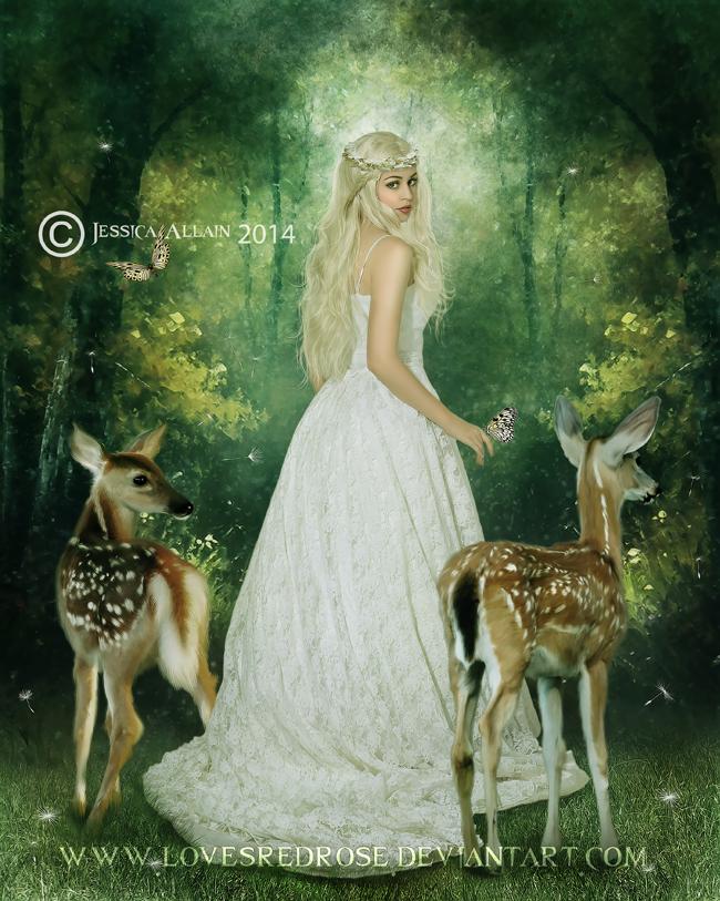 Kindness by EnchantedWhispersArt