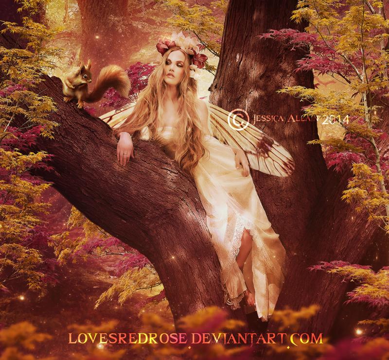 Elegant-Fae by EnchantedWhispersArt