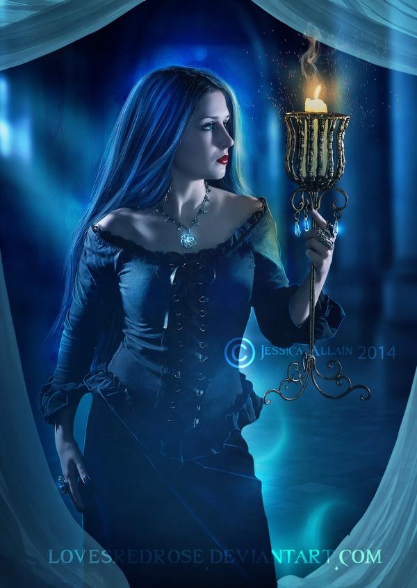Flame by EnchantedWhispersArt
