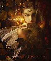 Golden-Glitter by EnchantedWhispersArt