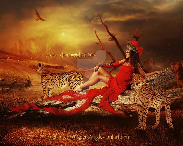 Desert-Rose by EnchantedWhispersArt