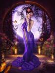Silk-Princess by EnchantedWhispersArt
