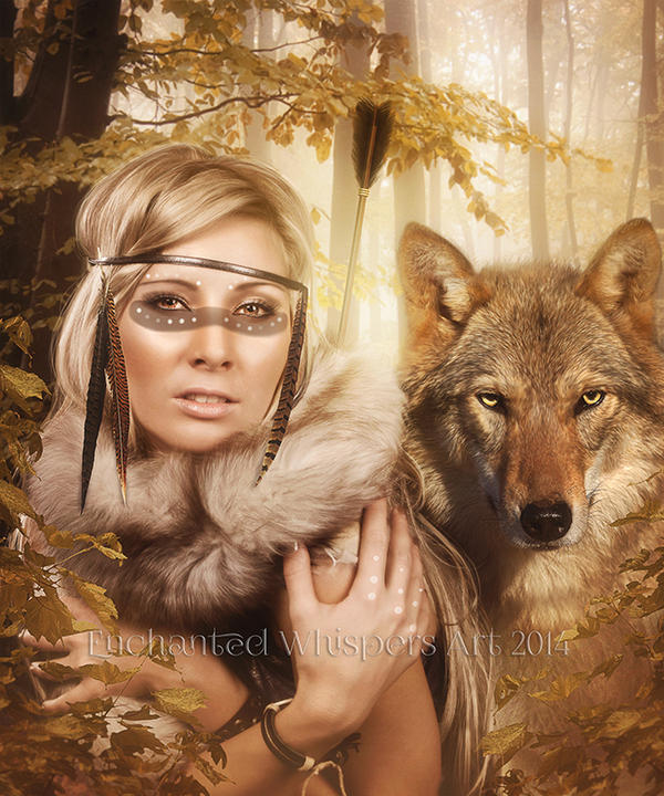 Huntress by EnchantedWhispersArt