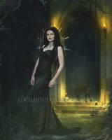 She-Walks-in-Shadows by EnchantedWhispersArt