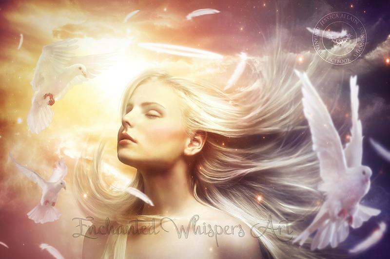 Blonde CAM ANGEL is an elegant stunner&comma