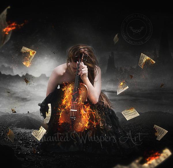 The Fire Inside by EnchantedWhispersArt