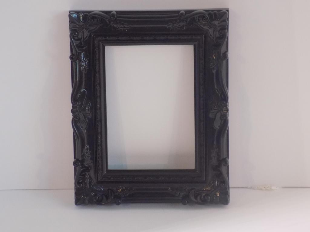Ornate black frame by enchantedwhispersart on deviantart ornate black frame by enchantedwhispersart jeuxipadfo Images