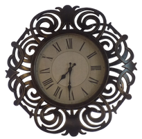 Ornate Clock Cut out by EnchantedWhispersArt