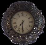 Ornate Clock Cut out