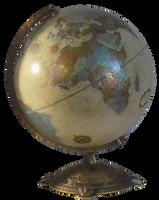 Globe by EnchantedWhispersArt