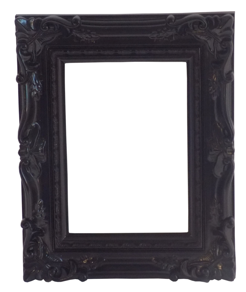 Ornate Black Frame by EnchantedWhispersArt on DeviantArt