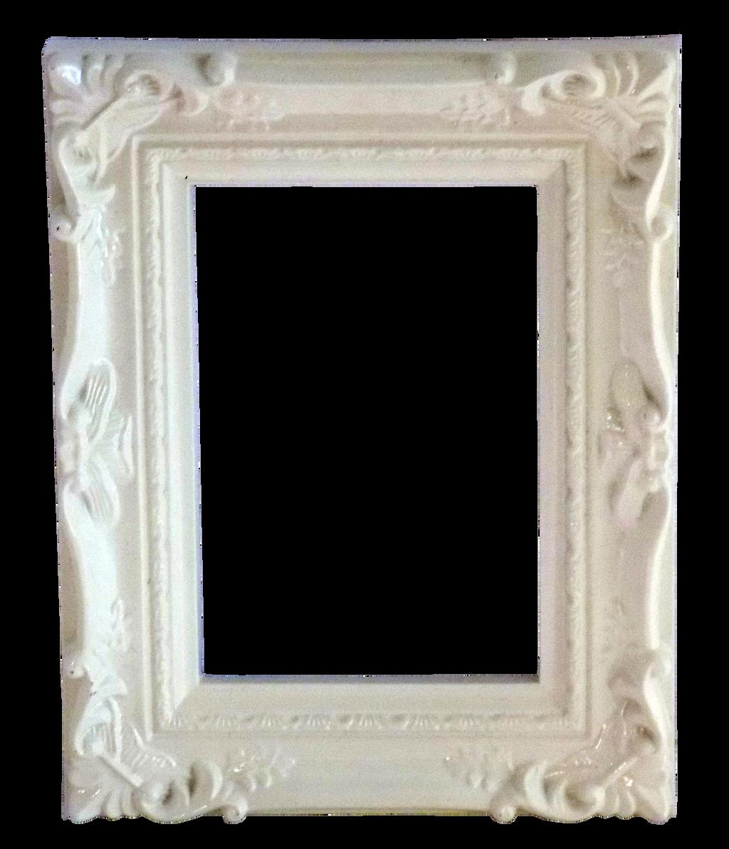 Ornate White Frame by EnchantedWhispersArt on DeviantArt