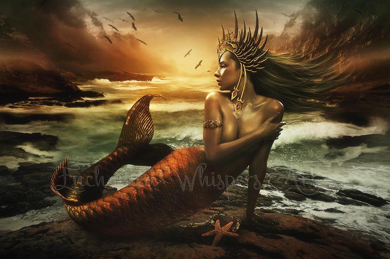 The-Last-Mermaid by EnchantedWhispersArt