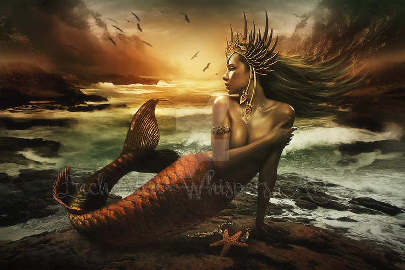 The-Last-Mermaid by EnchantedWhispersArt