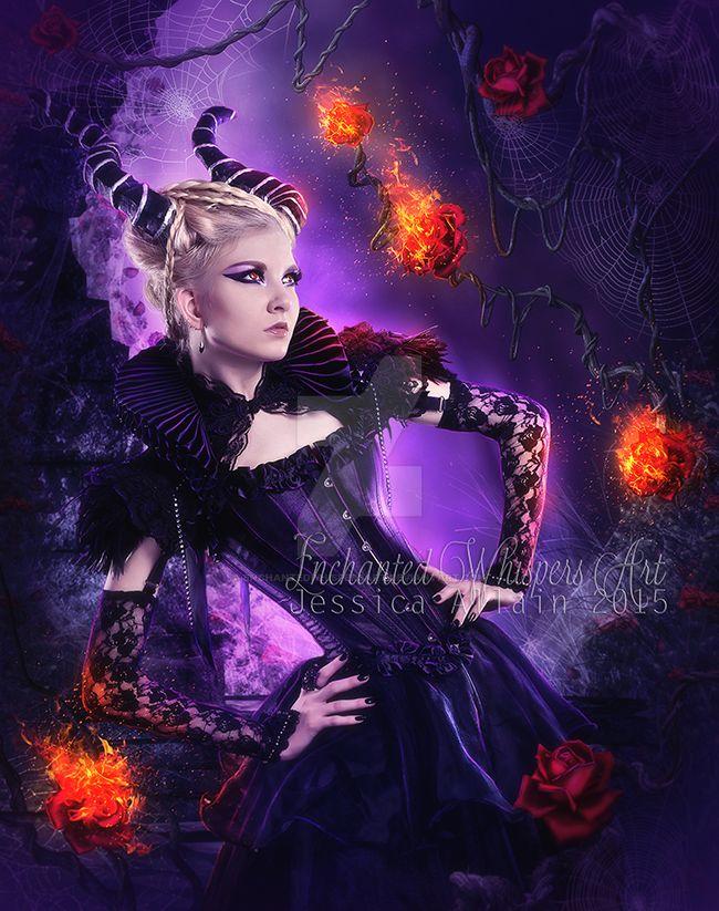 Fire-in-her-soul by EnchantedWhispersArt