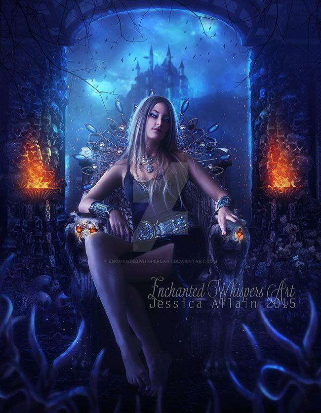 The-Throne by EnchantedWhispersArt