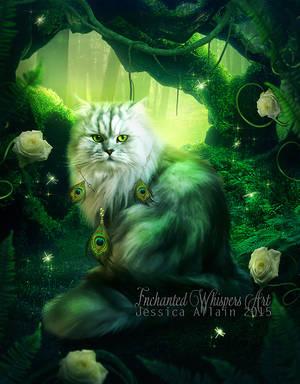 Emerald-Forest by EnchantedWhispersArt