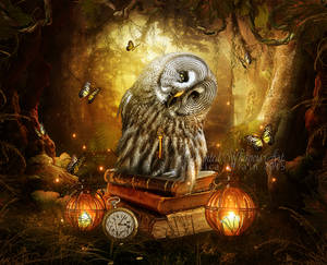 Time-Keeper by EnchantedWhispersArt