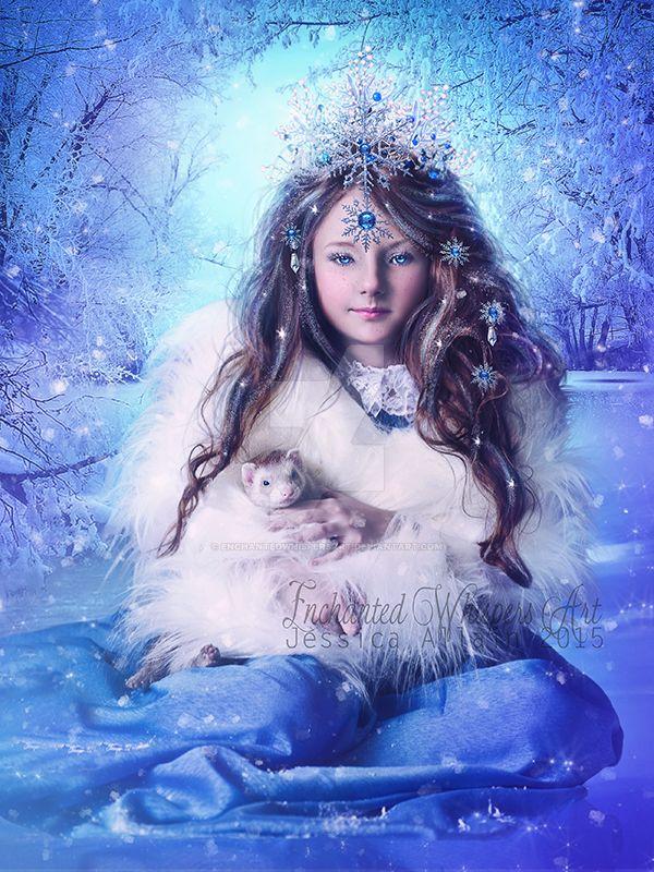 Winter's-Child by EnchantedWhispersArt