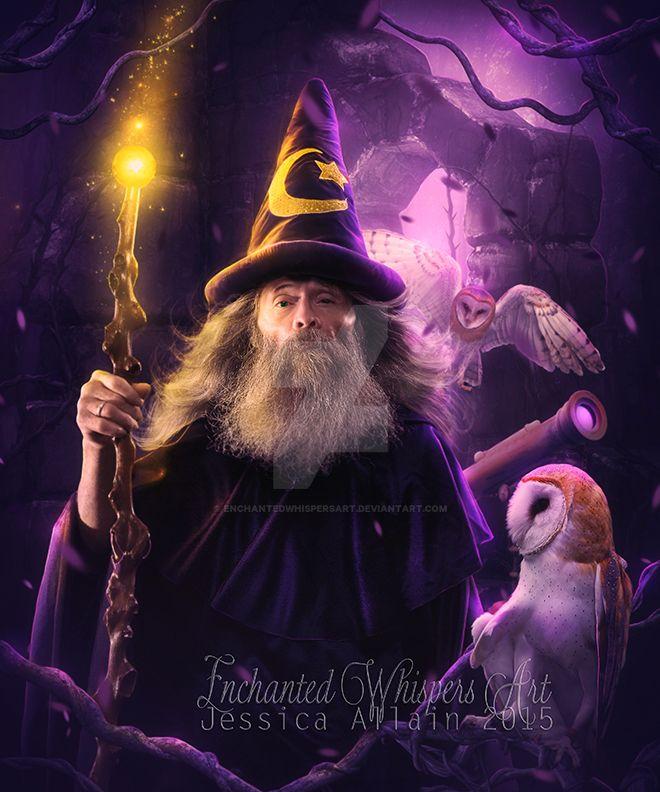 Merlin by EnchantedWhispersArt