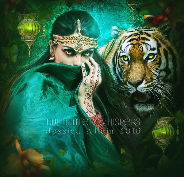Her-Fierce-Protector by EnchantedWhispersArt
