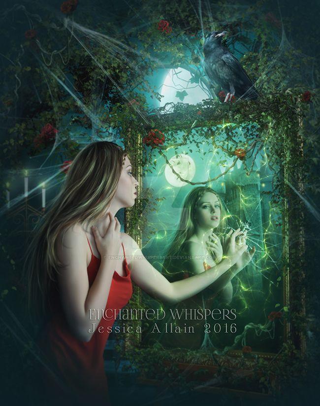 Dark-Reflections by EnchantedWhispersArt