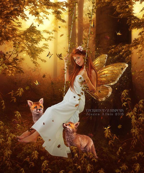 Autumn Magic by EnchantedWhispersArt