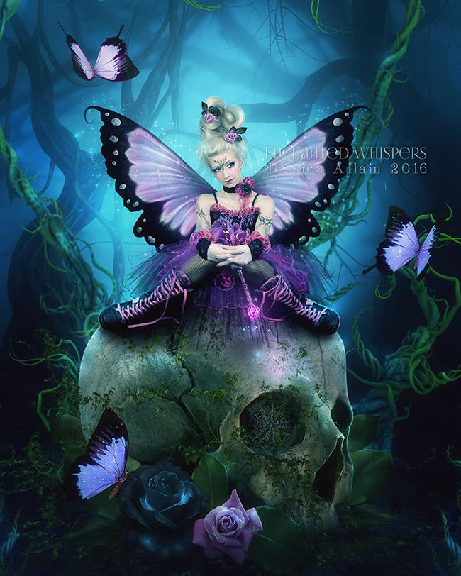 Dark-fae by EnchantedWhispersArt