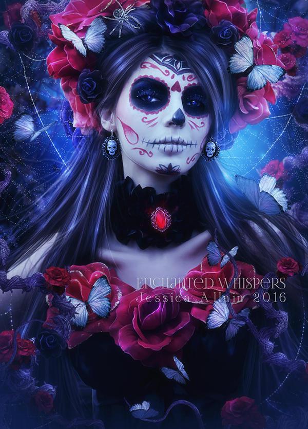 Bella Muerta 3 by EnchantedWhispersArt