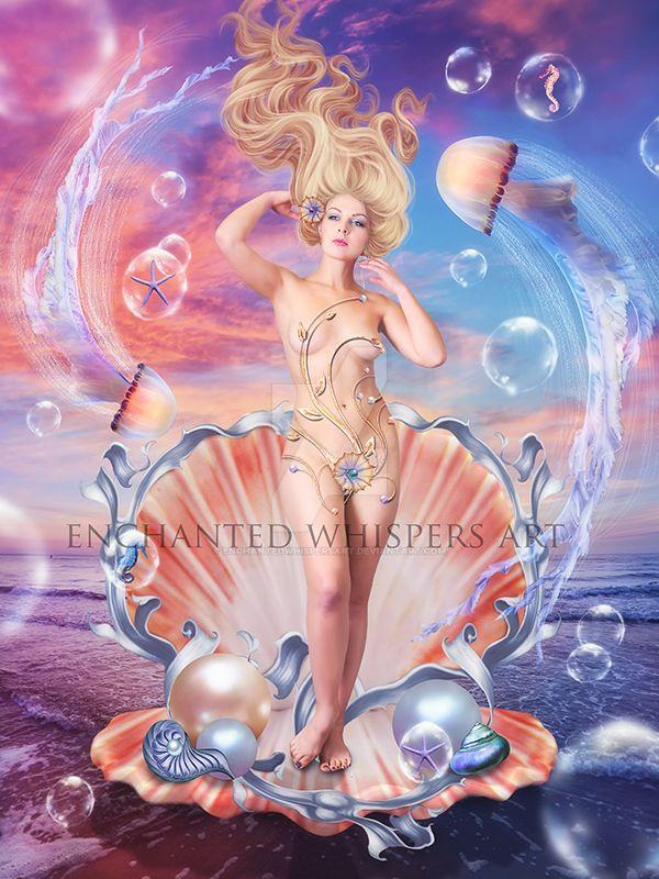 Aphrodite by EnchantedWhispersArt