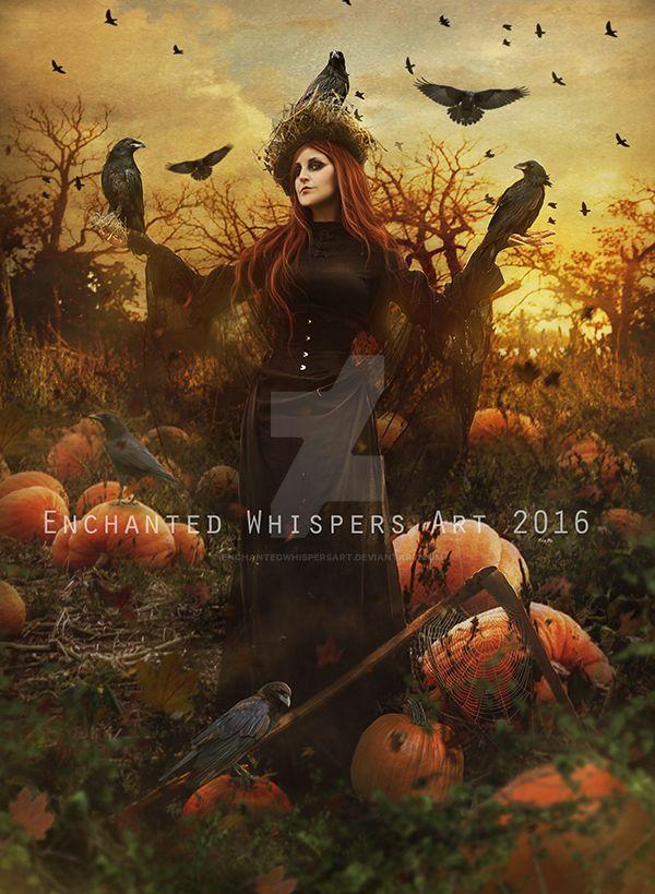 Lady-Scarecrow by EnchantedWhispersArt