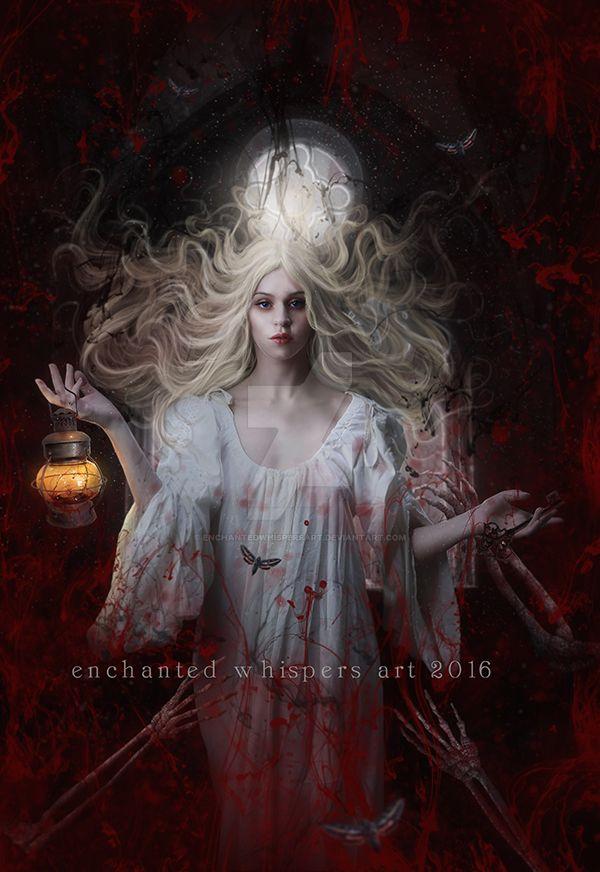Crimson by EnchantedWhispersArt