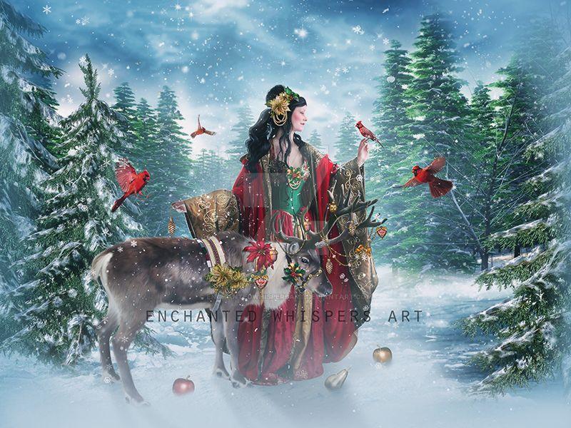 Holiday-Goddess by EnchantedWhispersArt