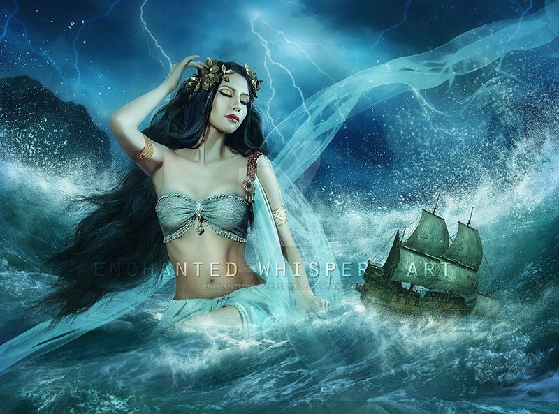 Calypso by EnchantedWhispersArt