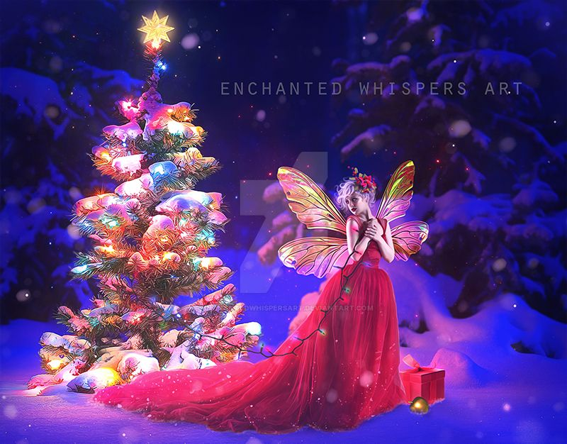 Fairy Christmas! by EnchantedWhispersArt