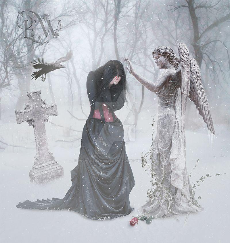 Winter Sadness by EnchantedWhispersArt